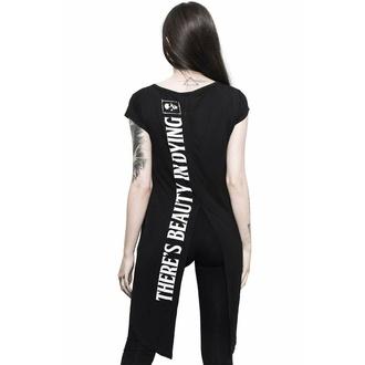 Frauen-T-Shirt (Tunika) KILLSTAR - Tote Rose - Schwarz, KILLSTAR
