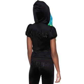 Damen-Sweatshirt KILLSTAR - Dee-Lux Velvet - Schwarz, KILLSTAR