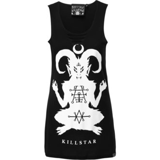 Damen Tanktop KILLSTAR - DEMONDAY SLASHER - SCHWARZ - KSRA000349