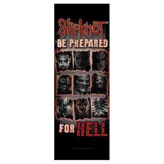 Flagge Slipknot - Be Prepared for Hell, HEART ROCK, Slipknot