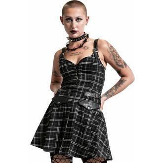 Damenkleider KILLSTAR - Distortion Plissee - ASH TARTAN, KILLSTAR
