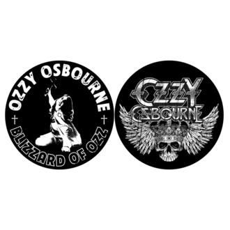 Drehbares Pad (2er Pack) OZZY OSBOURNE - BLIZZARD VON OZZ / CREST - RAZAMATAZ, RAZAMATAZ, Ozzy Osbourne