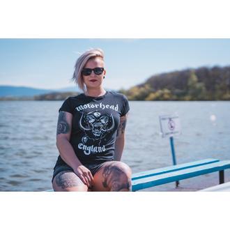 Damen T-Shirt Metal Motörhead - England - ROCK OFF, ROCK OFF, Motörhead