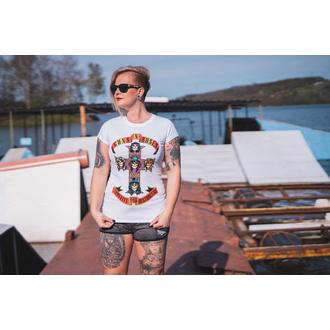 Damen T-Shirt Metal Guns N' Roses - Appetite For Destruction - ROCK OFF, ROCK OFF, Guns N' Roses