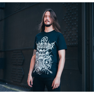Herren T-Shirt Thy Art Is Murder - Riddick Skull Pile - Schwarz - INDIEMERCH, INDIEMERCH, Thy Art Is Murder