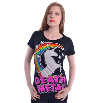 Damen T-Shirt - DEATH METAL - CUPCAKE CULT - POI588