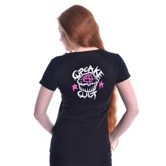 Damen T-Shirt - DEATH METAL - CUPCAKE CULT, CUPCAKE CULT