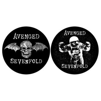 Drehbares Pad (2er Pack) AVENGED SEVENFOLD DEATH BAT / ASTRONAUT RAZAMATAZ SM053, RAZAMATAZ, Avenged Sevenfold