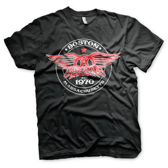 Herren T-Shirt Metal Aerosmith - Est. 1970, Boston - HYBRIS, HYBRIS, Aerosmith