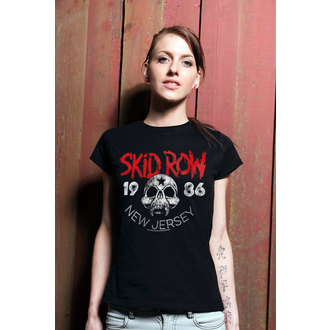 Damen T-Shirt Metal Skid Row - New Jersey - HYBRIS, HYBRIS