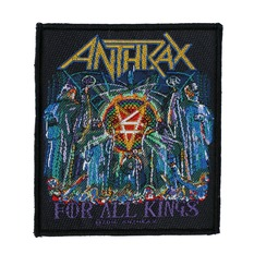 Aufnäher ANTHRAX - FOR ALL KINGS - RAZAMATAZ, RAZAMATAZ, Anthrax