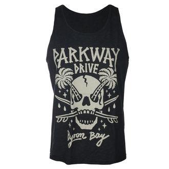 Herren Tanktop Parkway Drive - Skull Palms - Holzkohle - KINGS ROAD - 20121985