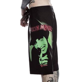 Kurze Herren Hose (Badeanzug) KILLSTAR - Marilyn Manson - Fiend - Schwarz, KILLSTAR, Marilyn Manson