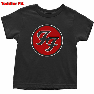 Kinder T-Shirt  Foo Fighters - Logo, ROCK OFF, Foo Fighters