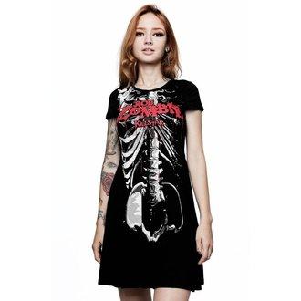 Damen Kleid KILLSTAR - Rob Zombie - Foxy Gebeine Schlittschuhläufer - SCHWARZ, KILLSTAR, Rob Zombie