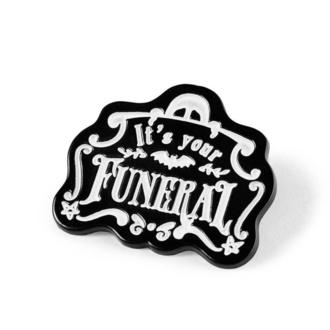 Reißzwecke KILLSTAR - Funeral Enamel, KILLSTAR