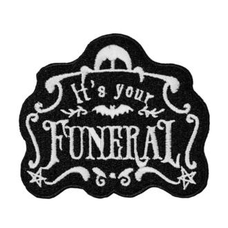 Patch zum Aufbügeln KILLSTAR - Funeral, KILLSTAR