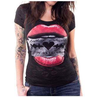 Damen T-Shirt Hardcore - RAZOR LIPS - LETHAL THREAT, LETHAL THREAT