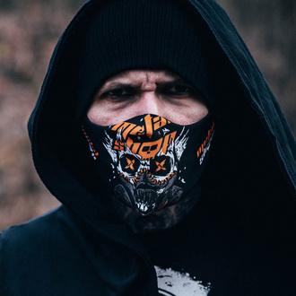 Mundschutz Maske Metalshop - Skull & Gas Mask, METALSHOP