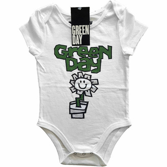 Baby-Body Green Day - Flower Pot - WHT, ROCK OFF, Green Day