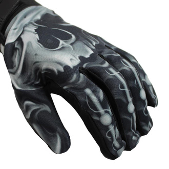 Handschuhe LETHAL THREAT - SKULL BIOMECHANICAL, LETHAL THREAT