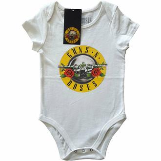 Baby-Body Guns N' Roses - Classic Logo - WHT, ROCK OFF, Guns N' Roses