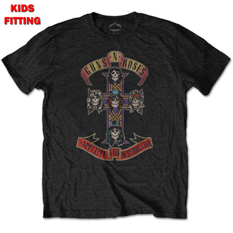 Kinder T-Shirt Metal Guns N' Roses - Appetite For Destruction - ROCK OFF, ROCK OFF, Guns N' Roses