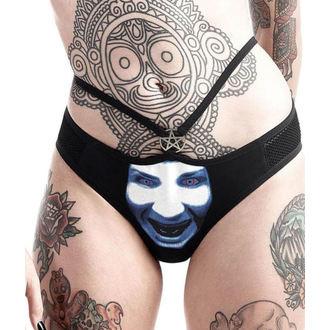 Damen Höschen KILLSTAR - Marilyn Manson - God of Fuck - Schwarz, KILLSTAR, Marilyn Manson
