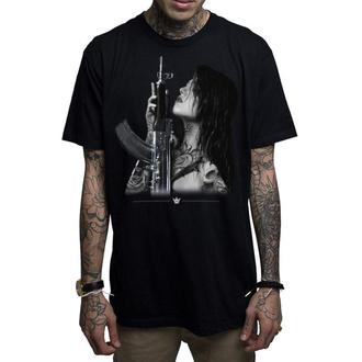 Herren T-Shirt MAFIOSO - GUN PLAY - BLK, MAFIOSO