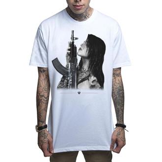 Herren T-Shirt MAFIOSO - GUN PLAY - WHT, MAFIOSO