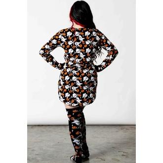 Damen Schlafanzug (Nachthemd) KILLSTAR - Haunted Pumpkin - Schwarz, KILLSTAR