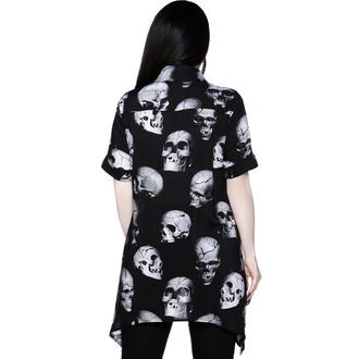 Damenshirt KILLSTAR - Kopfschmerzen Button-Up - Schwarz, KILLSTAR