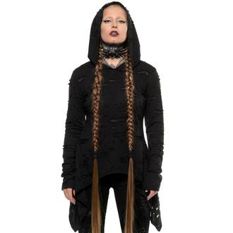 Damenpullover KILLSTAR - Hex Hooded - Schwarz, KILLSTAR