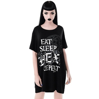 Damen T-Shirt Pyjama - Hex & Repeat - KILLSTAR, KILLSTAR