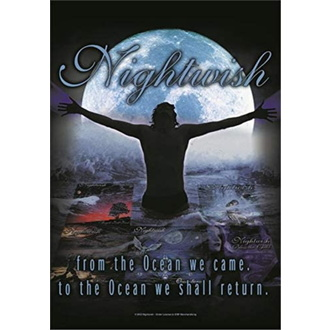 Flagge Nightwish - From the Ocean…, HEART ROCK, Nightwish