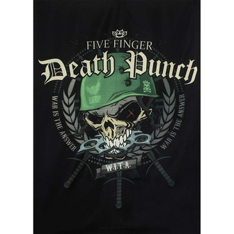 Flagge Five Finger Death Punch, HEART ROCK, Five Finger Death Punch