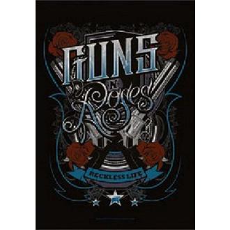 Flagge Guns N' Roses - Recklesslife, HEART ROCK, Guns N' Roses