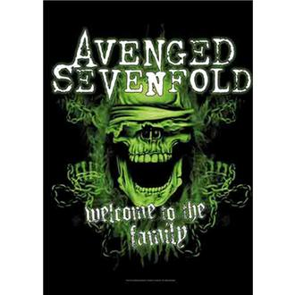 Flagge Avenged Sevenfold - Welcome to the Family, HEART ROCK, Avenged Sevenfold