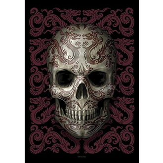 Flagge Anne Stokes - Oriental Skull, ANNE STOKES