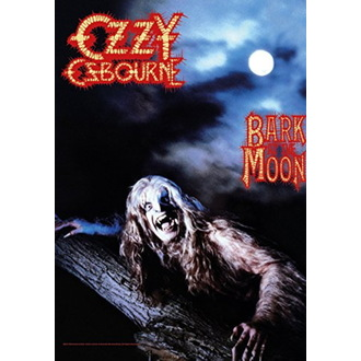 Flagge Ozzy Osbourne - Bark at the Moon, HEART ROCK, Ozzy Osbourne