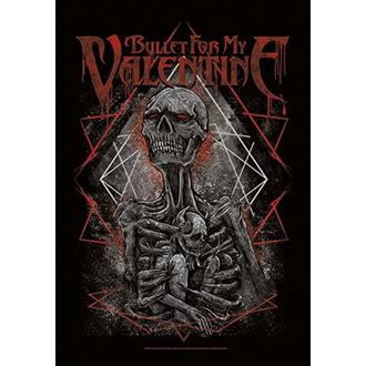 Flagge Bullet For my Valentine - Skeleton, HEART ROCK, Bullet For my Valentine