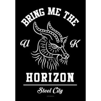 Flagge Bring Me the Horizon - Goat, HEART ROCK, Bring Me The Horizon
