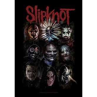 Flagge Slipknot - Oxidized, HEART ROCK, Slipknot