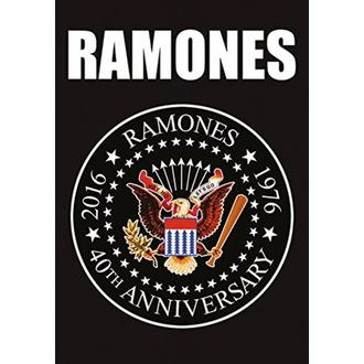 Flagge Ramones - 40th Anniversary Logo, HEART ROCK, Ramones