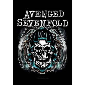 Flagge Avenged Sevenfold - Holy Reaper, HEART ROCK, Avenged Sevenfold