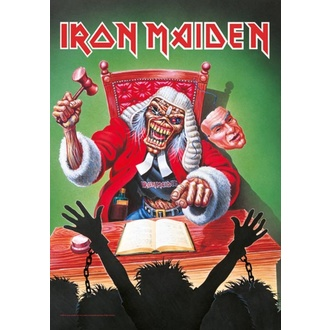 Flagge Iron Maiden - 10 Years, HEART ROCK, Iron Maiden