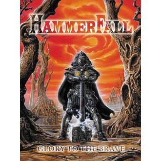 Fahne Hammerfall - Glory to The Brave, HEART ROCK, Hammerfall