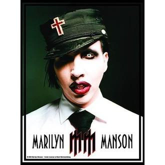 Fahne Marilyn Manson - Uniform, HEART ROCK, Marilyn Manson
