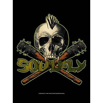 Fahne Soulfly - Skull, HEART ROCK, Soulfly