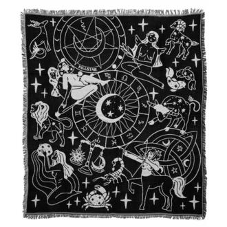 Decke (Bettdecke) KILLSTAR - Horoskop - Schwarz, KILLSTAR